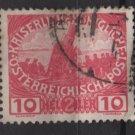 Austria  semi postal  1915  -  Scott  B5 used - 10h+ 2h,  Siege gun (8-572)