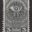 Austria  1919/20 -  Scott 200 MH - 3h, Post horn (8-554)