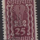Austria 1922/24  - Scott  261 used - 25k, Symbols of   Agriculture (8-626)