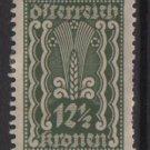 Austria 1922/24  - Scott  258  MH  - 12.1/2k, Symbols of   Agriculture (8-617)