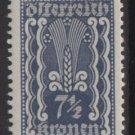 Austria 1922/24  - Scott  256 MH  - 7.1/2k, Symbols of  Agriculture  (8-609)