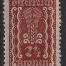 Austria 1922/24  - Scott  253 MH  - 2.1/2k, Symbols of  Agriculture  (8-601)