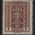 Austria 1922/24  - Scott  251 MH  - 1k,  Symbols of  Labor & Industry (8-597)