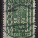 Austria 1922/24  - Scott  276 used - 400 k, Symbols of  Agriculture  (8-666)
