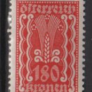 Austria 1922/24  - Scott  272 MH- 180k, Symbols of  Agriculture  (8-654)