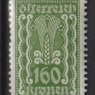 Austria 1922/24  - Scott  271 MH- 160k, Symbols of  Agriculture  (8-652)