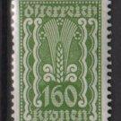 Austria 1922/24  - Scott  271 MH- 160k, Symbols of  Agriculture  (8-652)