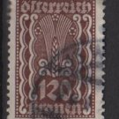 Austria 1922/24  - Scott  269 used - 120k, Symbols of  Agriculture  (8-647)