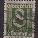 Austria 1925/27  - Scott 310  used -  8g, Numeral (8-705)