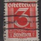 Austria 1925/27  - Scott 305  used -  3g, Numeral (8-699)