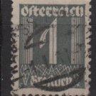 Austria 1925/27  - Scott 303  used -  1g, Numeral  (8-695)