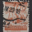 Austria 1925/27  - Scott 311  used -  10g, Fields crossed by Telegraph wires  (8-689)
