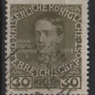 Austria 1908/13 - Scott 119a  used - 30h,  Franz Josef (8-685)