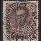 Austria 1908/13 - Scott 117a  used - 12h,  Ferdinand I (8-681)