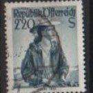 Austria 1948/52  -  Scott 547  used  -  2.20s,  Austrian Costumes, Ischl (8-767)