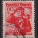 Austria 1948/52  -  Scott 532  used  -  60g,  Austrian Costumes, Carinthia (8-740)
