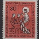 Germany 1966 - Scott 961 MMH - 30 pf,  Catholics meeting (9-370)