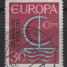 Germany 1966 - Scott 964 used - 30pf, Europa issue, common design (9-363)