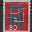 Germany 1966 - Scott 966 MNH - 30pf, Progress in Science, dynamo (9-351)