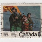 CANADA 1973 - scott 619 used - 8c, Scottish Settlers  (d-493)