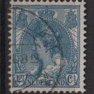 Netherlands 1898 - Scott 68 used – 12.1/2c, Queen Wilhelmina  (9-464)