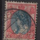 Netherlands 1898 - Scott 77 used - 25c, Queen Wilhelmina  (9-472)