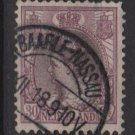Netherlands 1898 - Scott 78 used - 30c, Queen Wilhelmina (9-474)