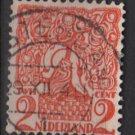 Netherlands 1923 - Scott 114 used – 2c, Orange tree & Lion Brabant  (9-481)