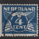 Netherlands 1924/26  - Scott  146 used -  4c, Gull  (9-492)