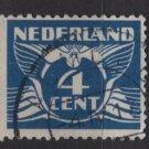 Netherlands 1924/26  - Scott  146 used -  4c, Gull  (9-492)