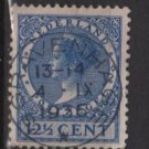 Netherlands 1926 - Scott 180 used - 12.1/2c, Queen Wilhelmina  (9-508)