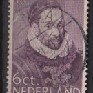 Netherlands 1933 - Scott 198 used - 6c, William I   (9-515)