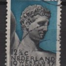 Netherlands 1937- Scott 208 used - 12.1/2c, Boy Scout Jamboree, Mercury (9-522)