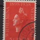 Netherlands 1938 - Scott 210 used – 5c, Queen Wilhelmina (9-524)