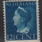 NETHERLANDS 1940/47 -  Scott  219 MH – 12.1/2c,  Queen Wilhelmina  (9-534)