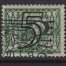 NETHERLANDS 1940 -  Scott  227 used  – 5c on 3c, Gull type of´ 24/26  surcharged (9-549)