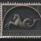 Netherlands 1943/1944 - Scott 245 MH – 1c, Sea Horse   (9-560)