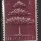 Netherlands 1943 - Scott #246 used – 1.1/2c, triple crown tree    (9-509*)