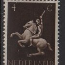 Netherlands 1943 - Scott 250 MH - 4c, Man on Horse (9-564)