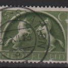 Netherlands 1943 - Scott  251 used - 5c, Horses   (9-565)