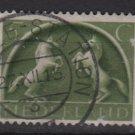 Netherlands 1943 - Scott  251 used - 5c, Horses   (9-565)