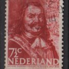 Netherlands 1943/1944 - Scott 252 used – 7.12c, Adminral M. A. de Ruyter    (9-566)