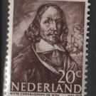 Netherlands 1943/1944 - Scott 257 MH – 20c, Witte de With  (9-570)