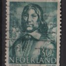 Netherlands 1943/1944 - Scott 260 used – 30c, Cornelis Tromp  (9-574)