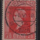 Netherlands 1944/46 - Scott 266 used - 7.1/2c, Queen Wilhelmina (9-578)