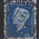 NETHERLANDS 1947/48 - Scott  294 used - 25c,  Queen Wilhelmina (9-596)