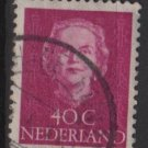 NETHERLANDS 1949 - Scott 315 used - 40c, Queen Juliana (9-619)