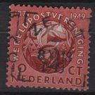 Netherlands 1949 - Scott 323 used - 10c, UPU 75th Anniv, Post Horns entwined  (9-625)