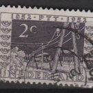 Netherlands 1952 - Scott 332 used - 2c, Telegraph Poles   (9-633)
