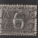 Netherlands 1953/57 - Scott 342 used - 6c, Numeral type of ´46   (9-641)